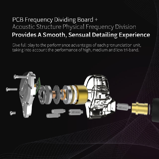 KZ ZS10 Pro Frequency Dividing Board