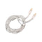 Lightning Cable Silver Plated Upgraded Version For KZ Earphones