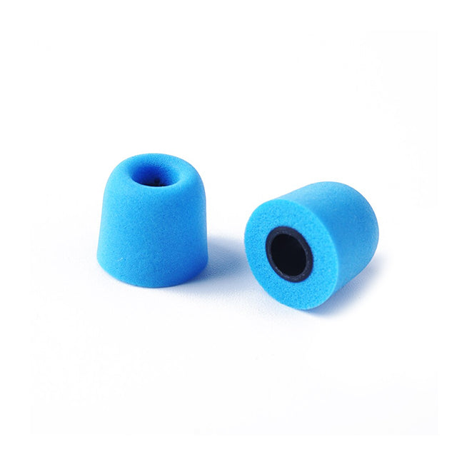 kz memory foam eartips blue