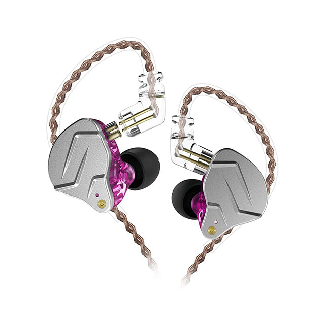 KZ Earphone ZSN Pro Metal 1BA+1DD