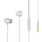 Remax Earphone RM-550 Wired Music in-Ear with Microphone White