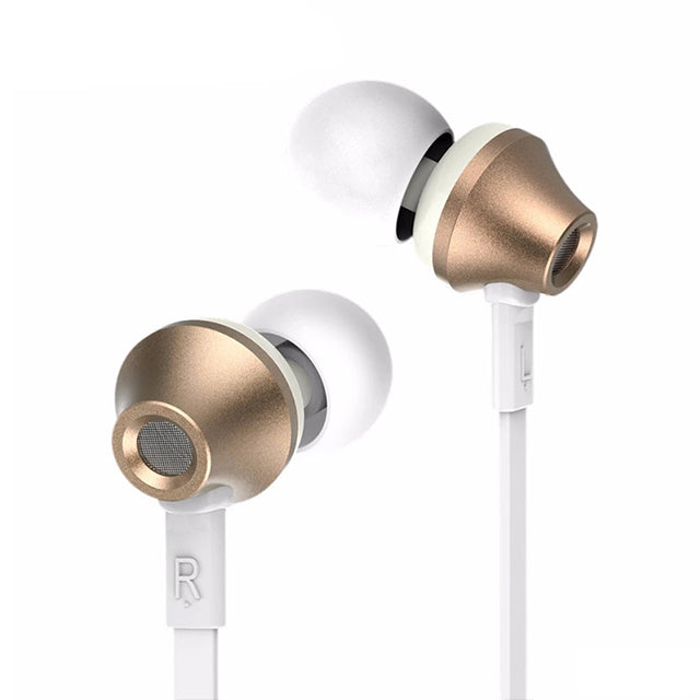 Remax Earphone RM-610D Hifi Sound with Microphone