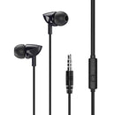 Remax Earphone With Microphone RW-106 Black
