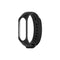 Silicone Strap for Xiaomi Mi Band 3 Mi Band 4 Black