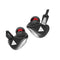 QKZ Earphone VK3 In-Ear Wired With Microphone Black