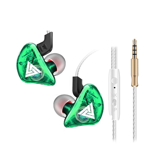 QKZ CK5 Stereo Sport HiFi In-Ear Earphones Green
