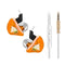 QKZ CK5 Stereo Sport HiFi In-Ear Earphones  Orange