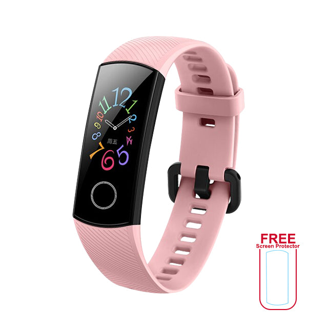 Honor Band 5 Fitness Tracker with Blood Oxygen Level Sensor International Version with Freebies