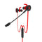 Plextone G30 Earphone Gaming Head Set with Microphone Red