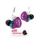 KZ ZST PRO Earphone Dual Driver HiFi with Free Pouch