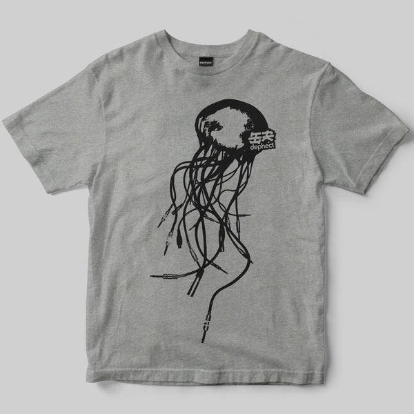 Audiofish T-Shirt / Heather Grey / by Keshone