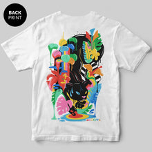 Black Panther T-Shirt / White / by Sarah Wearer