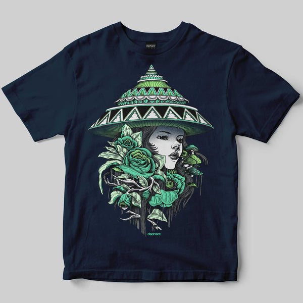 Bloom T-Shirt / Navy / by Iain Macarthur
