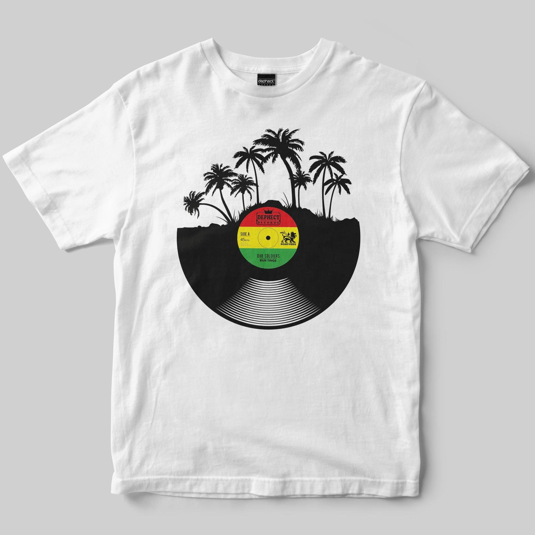 Dub Soldiers T-Shirt / White / by Keshone