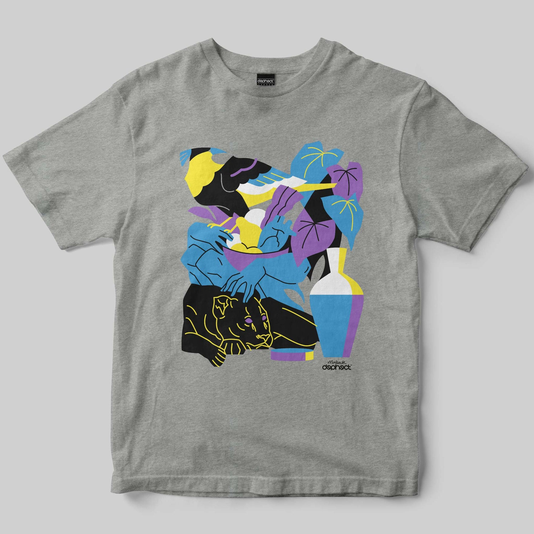 Earthlings T-Shirt / Heather Grey / by André Morbeck