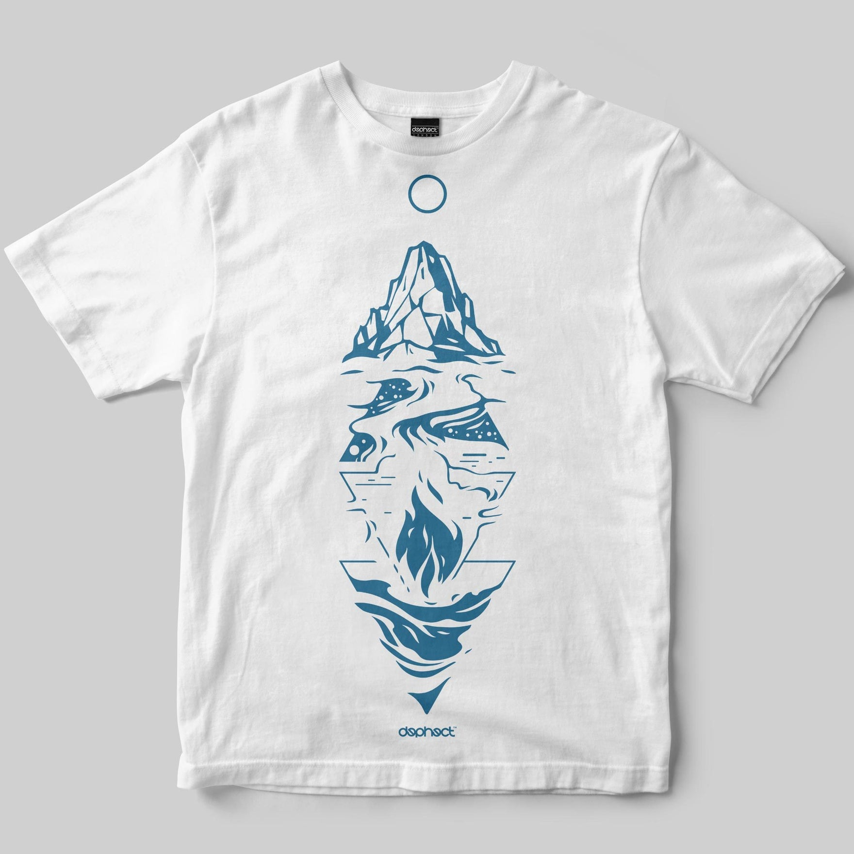 Elements T-Shirt / White / by Dario Anzà