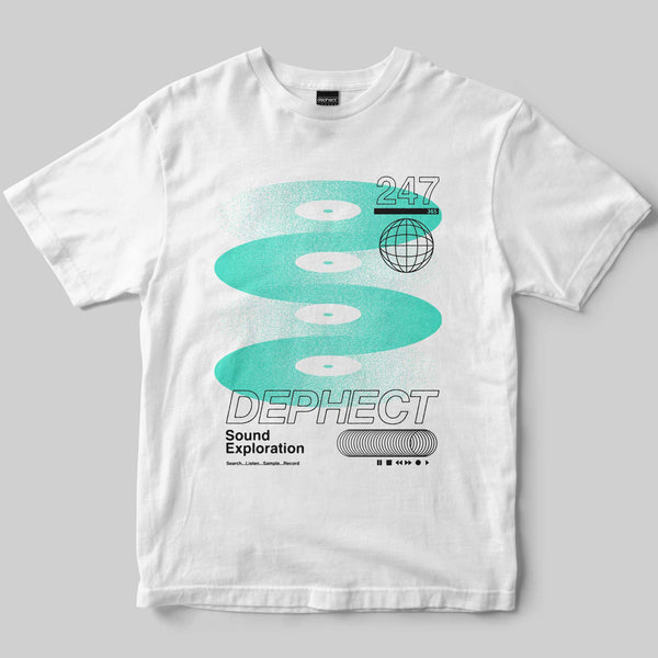 Exploration T-Shirt / White / by Keshone