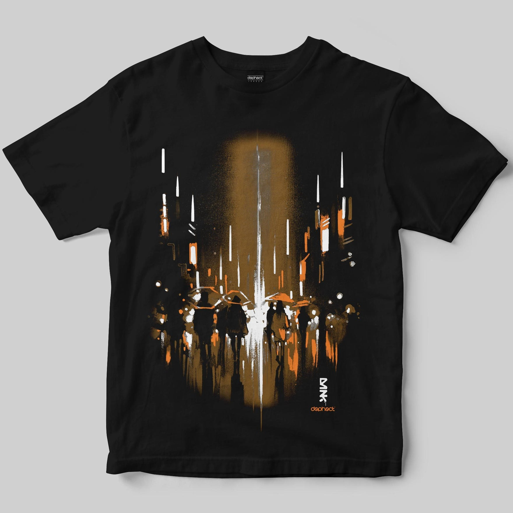 Ghost City T-Shirt / Black / by Dan Kitchener