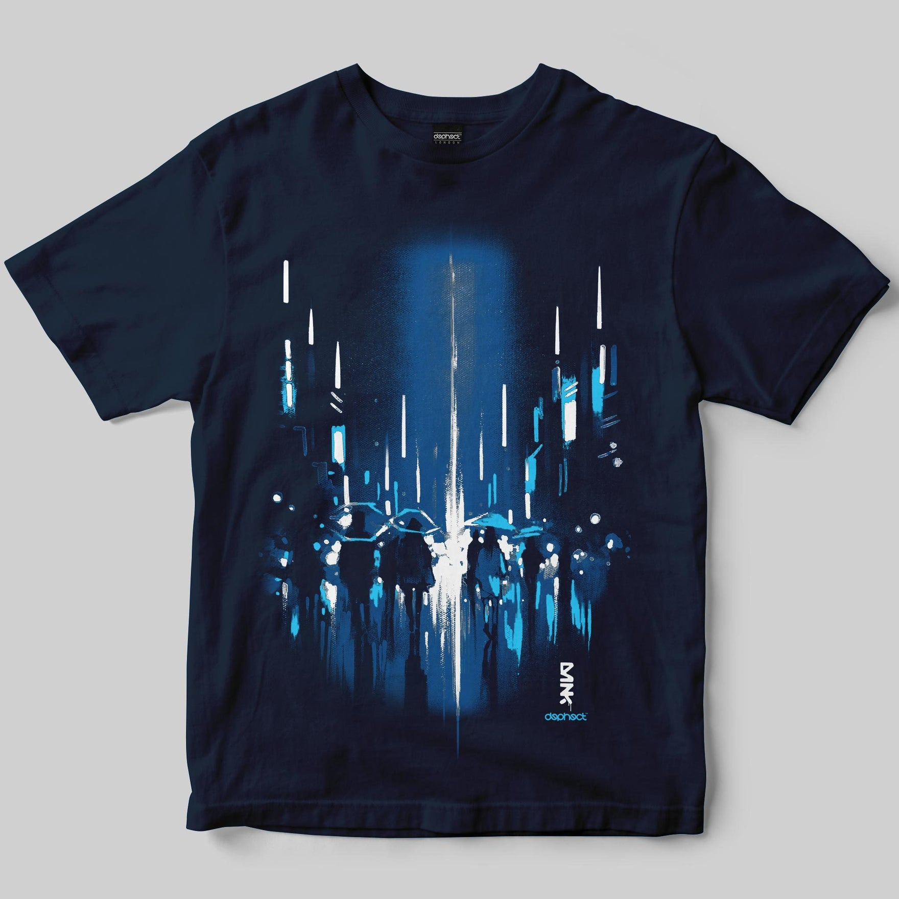 Ghost City T-Shirt / Navy / by Dan Kitchener