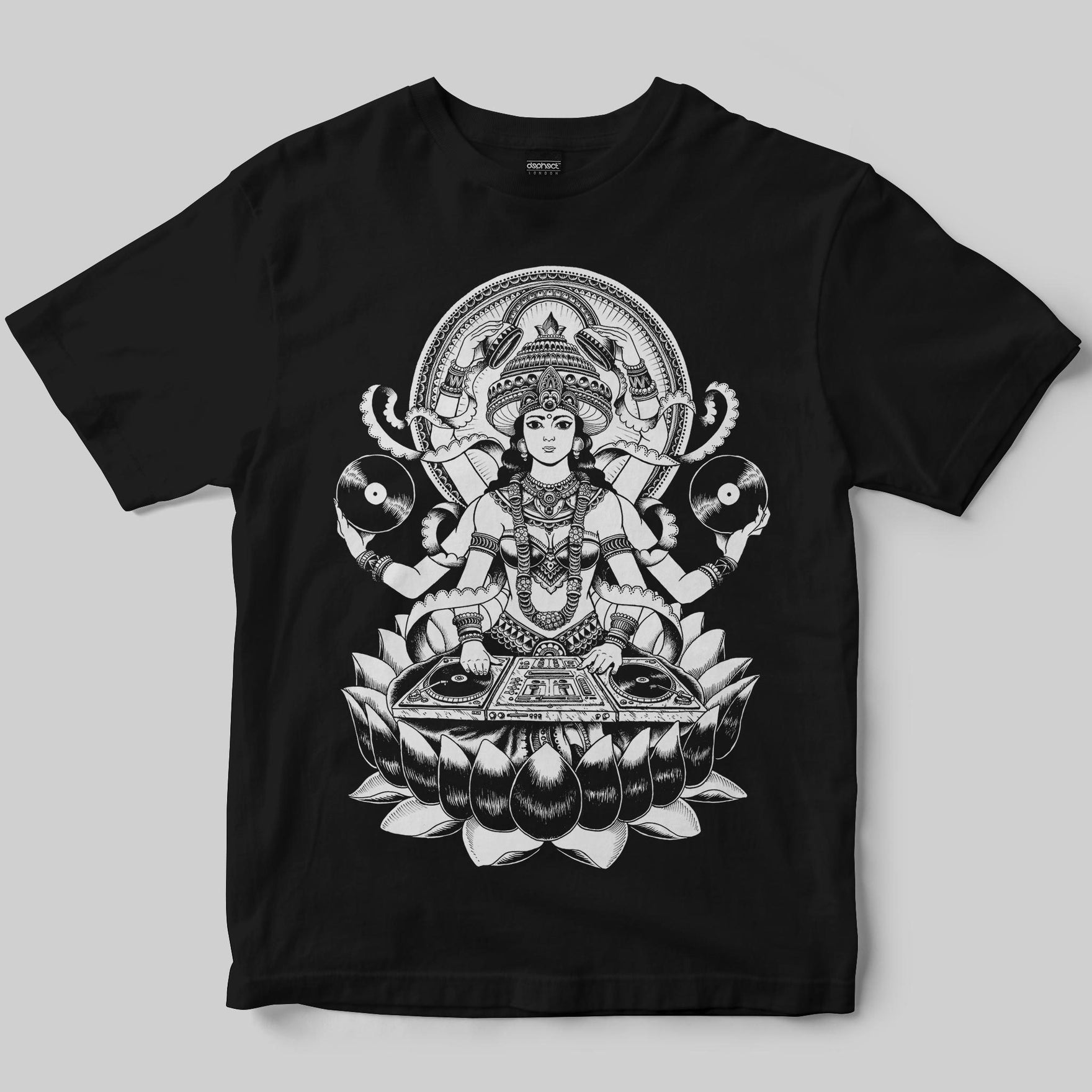 Goddess T-Shirt / Black / by Iain Macarthur