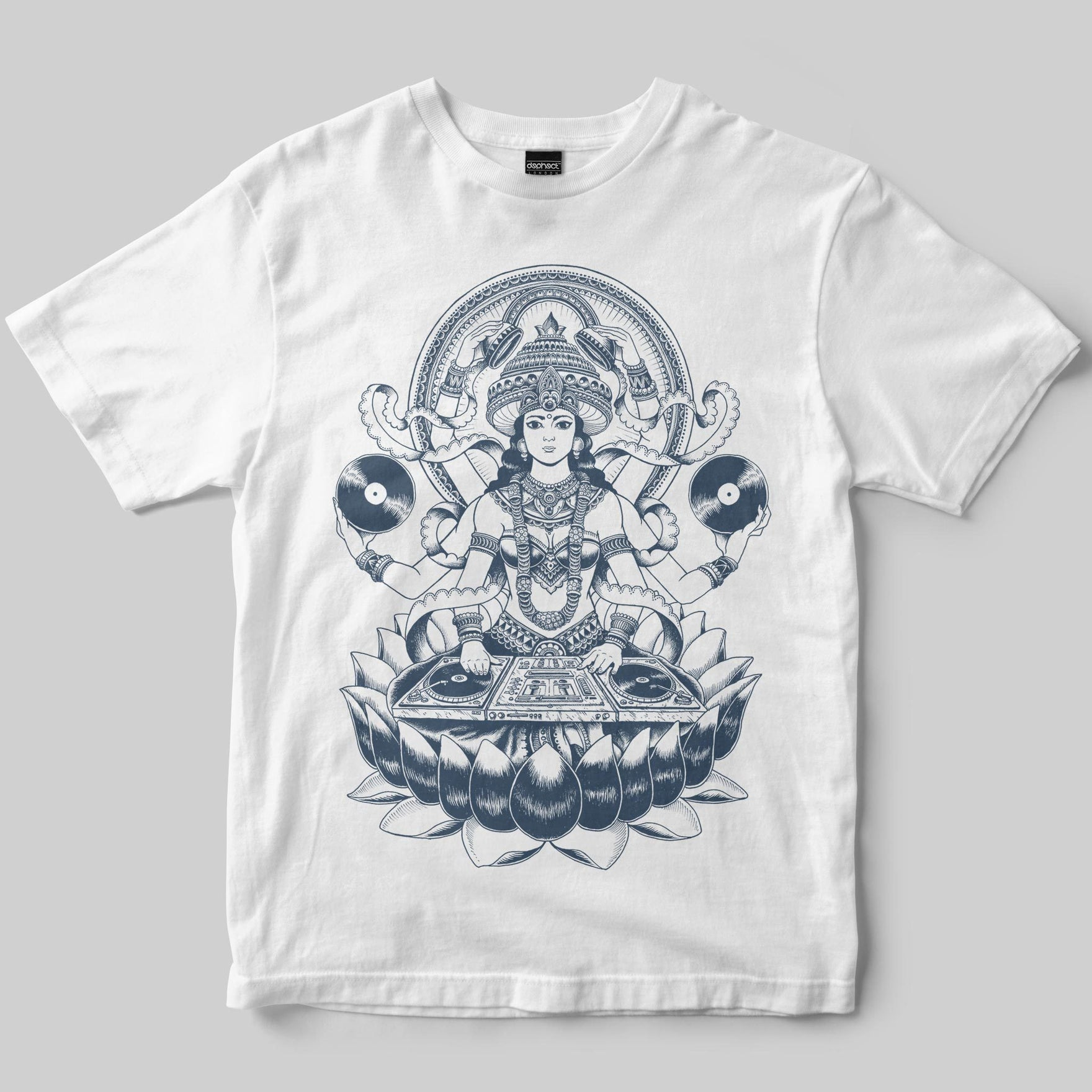 Goddess T-Shirt / White / by Iain Macarthur