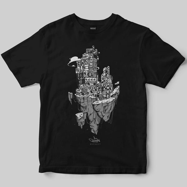 Gravitate T-Shirt / Black / by Bonzai