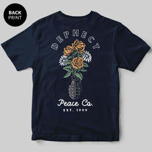 Grenade T-Shirt / Navy / by Heeey!