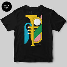 Jazz T-Shirt / Black / by Union Haus