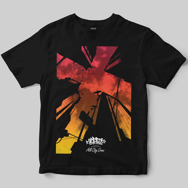 Looking Up T-Shirt / Black / by Keshone