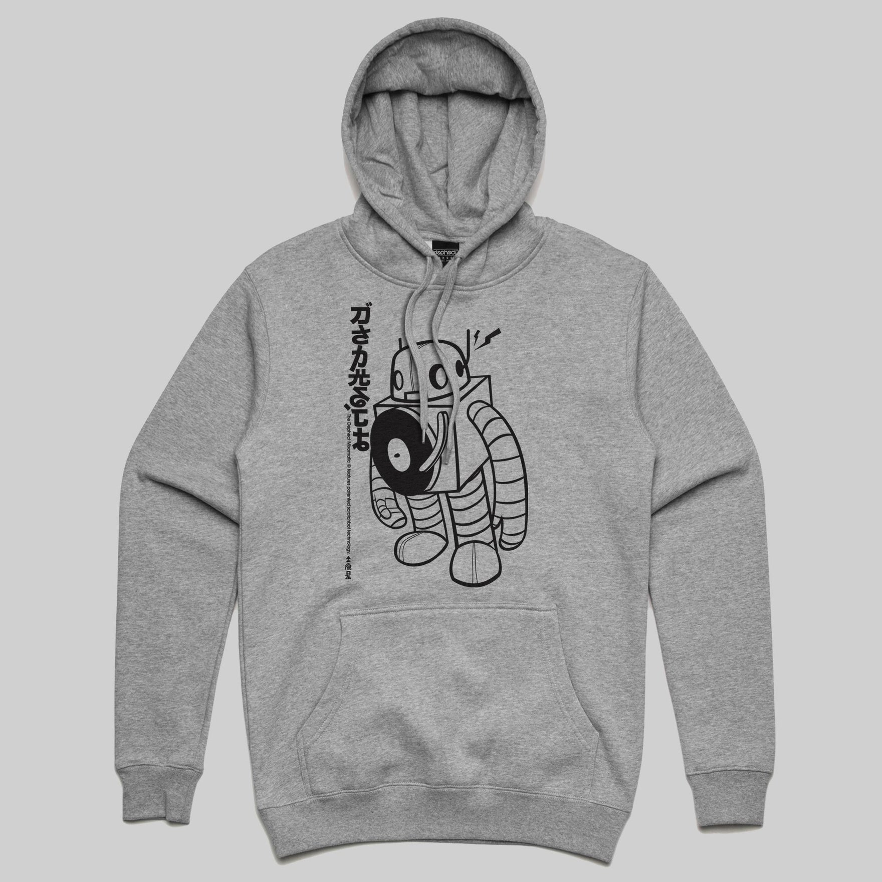 Mixomatic Hoody / Heather Grey / by Keshone
