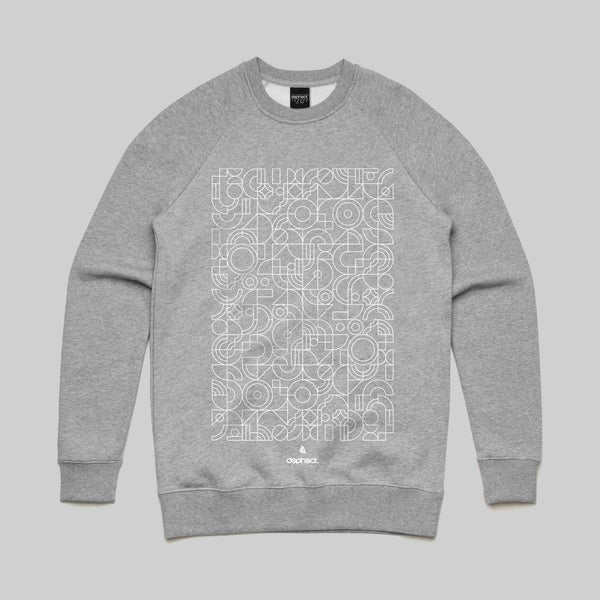 Mosaic Sweatshirt / Light Heather / by Robert Anderson