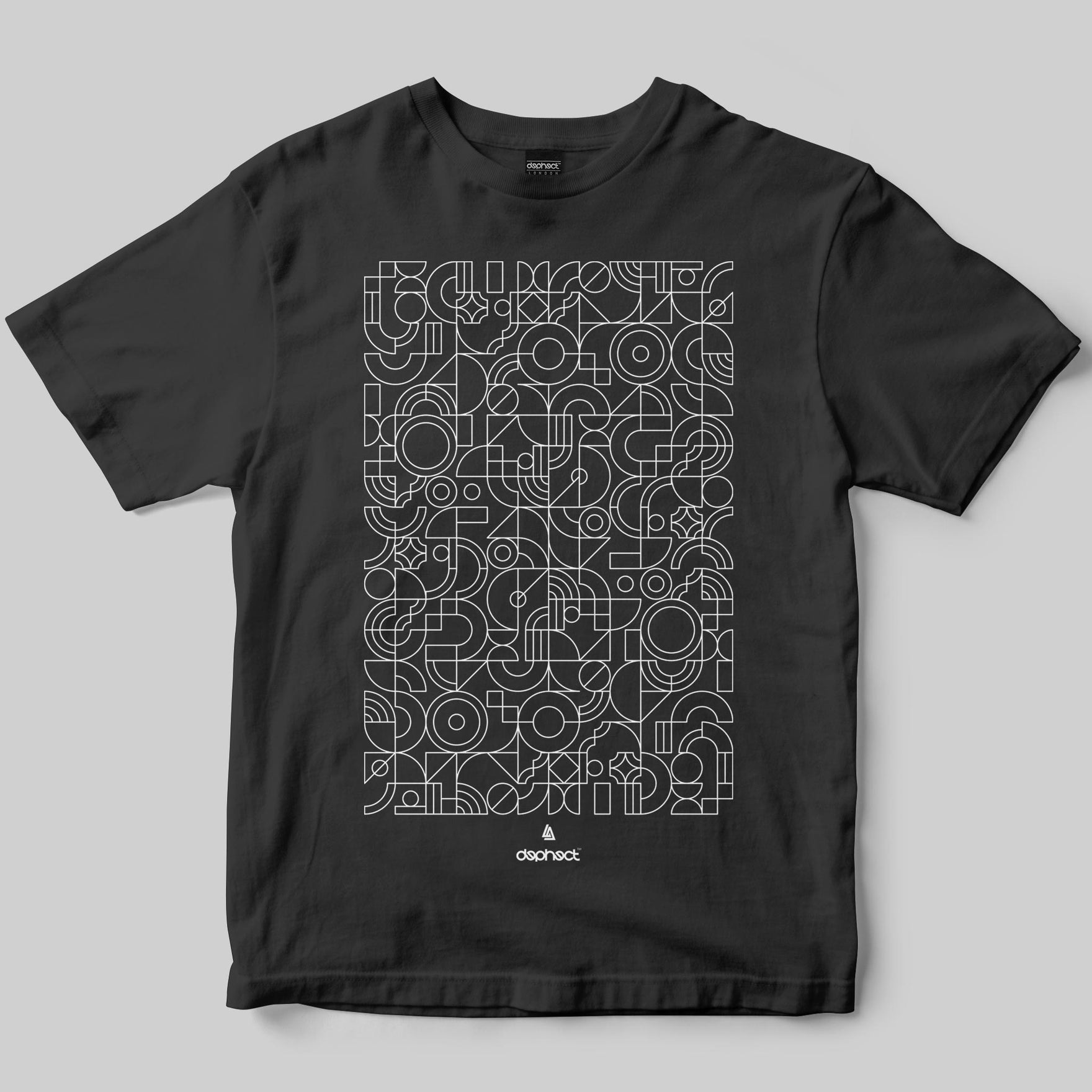 Mosaic T-Shirt / Charcoal / by Robert Anderson