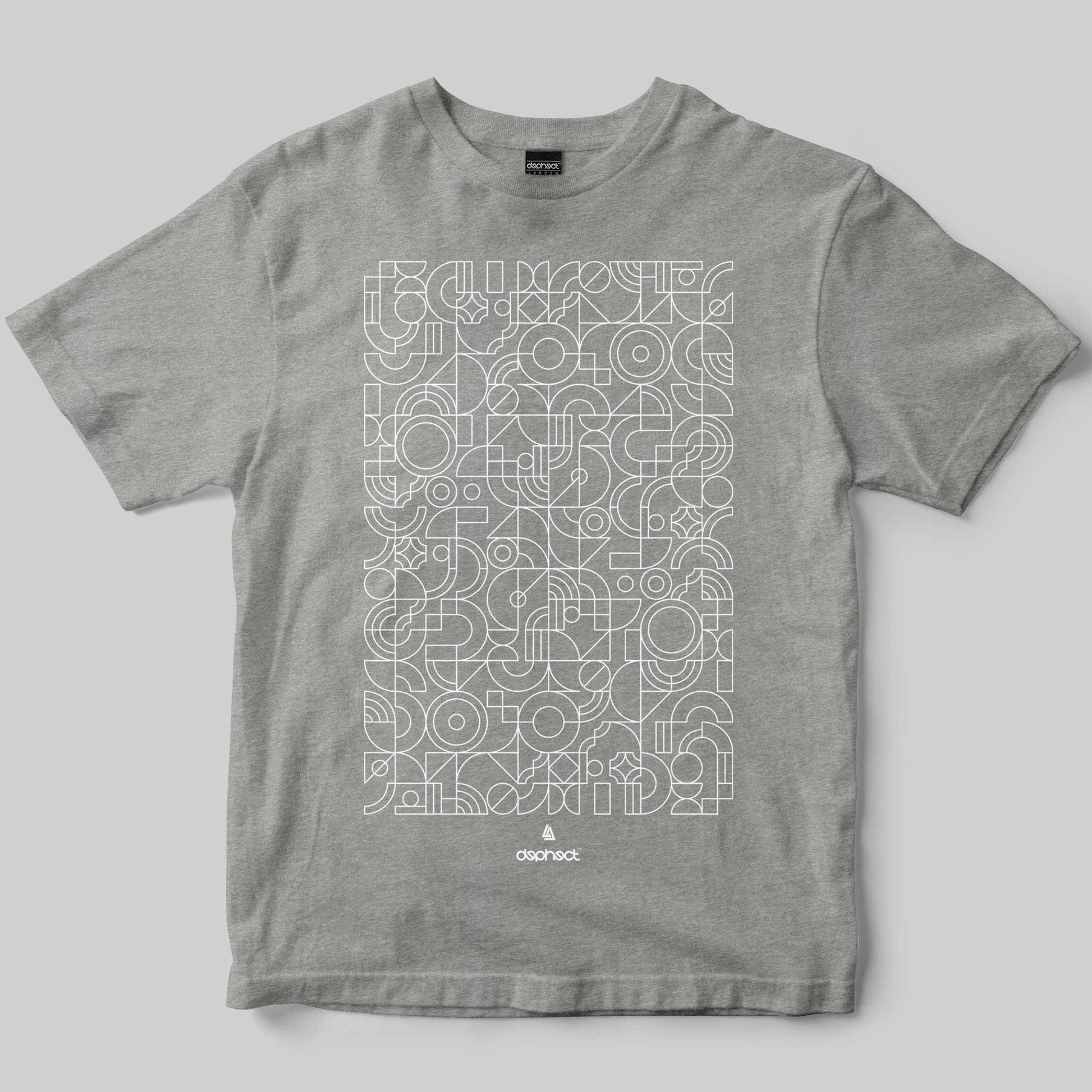 Mosaic T-Shirt / Heather Grey / by Robert Anderson