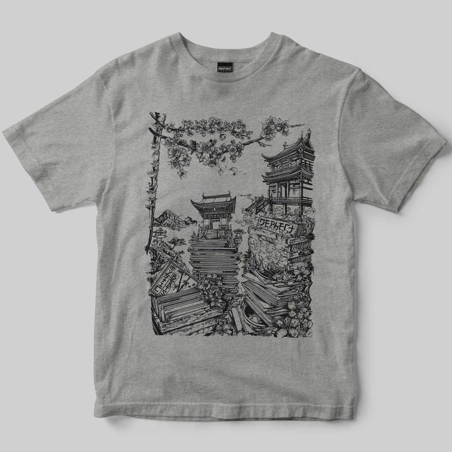 Mystic Beats T-Shirt / Heather Grey / by Mike Winnard