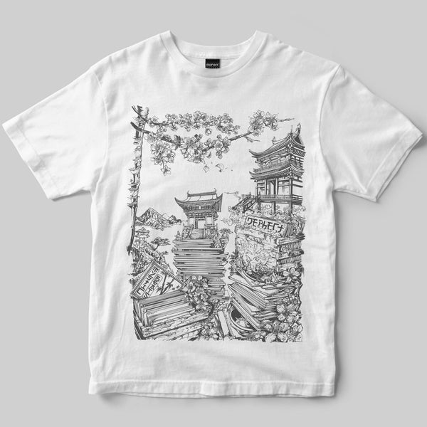 Mystic Beats T-Shirt / White / by Mike Winnard