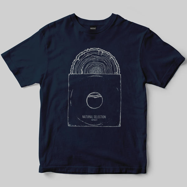 Natural Selection T-Shirt / Navy / by Keshone
