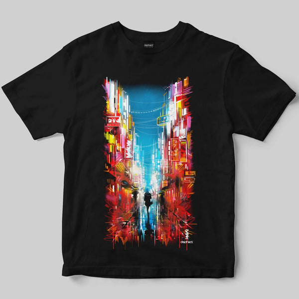 Neon T-Shirt / Black / by Dan Kitchener