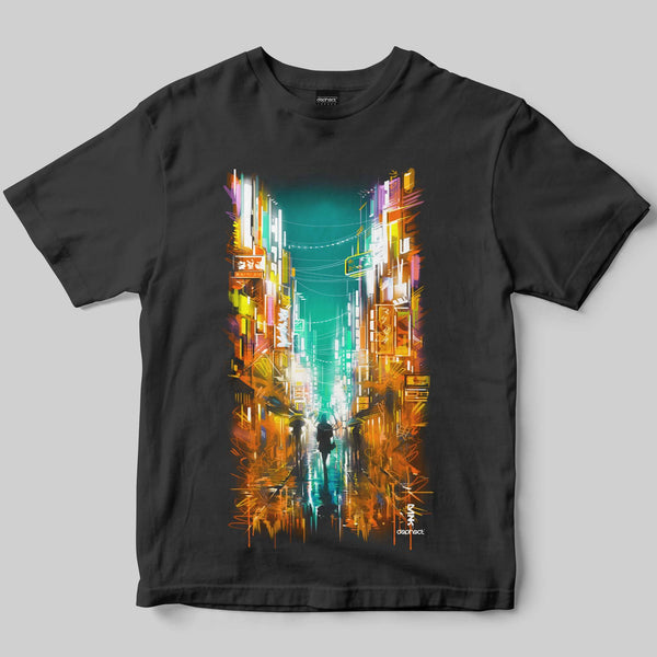 Neon T-Shirt / Charcoal / by Dan Kitchener