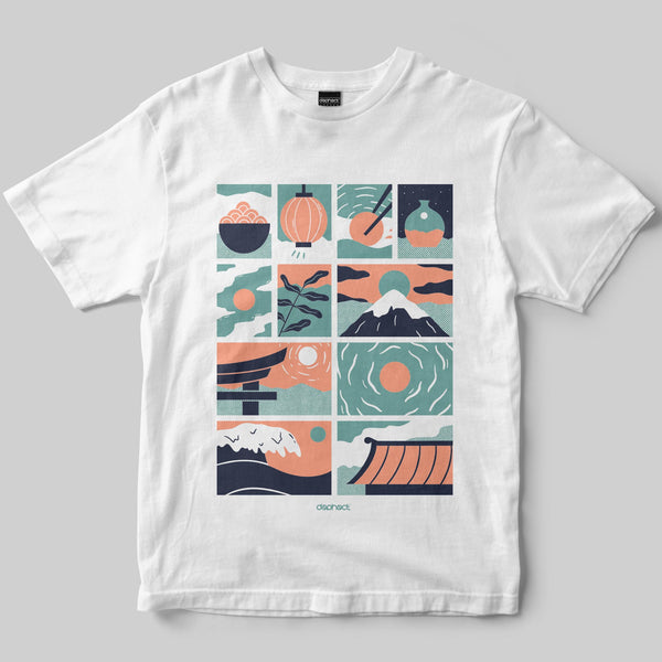 Nippon T-Shirt / White / by Miles Tewson