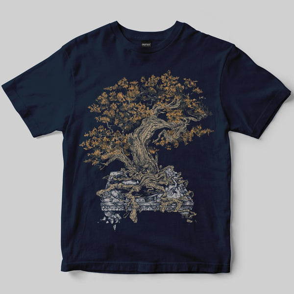 Planted T-Shirt / Navy / by Mike Winnard