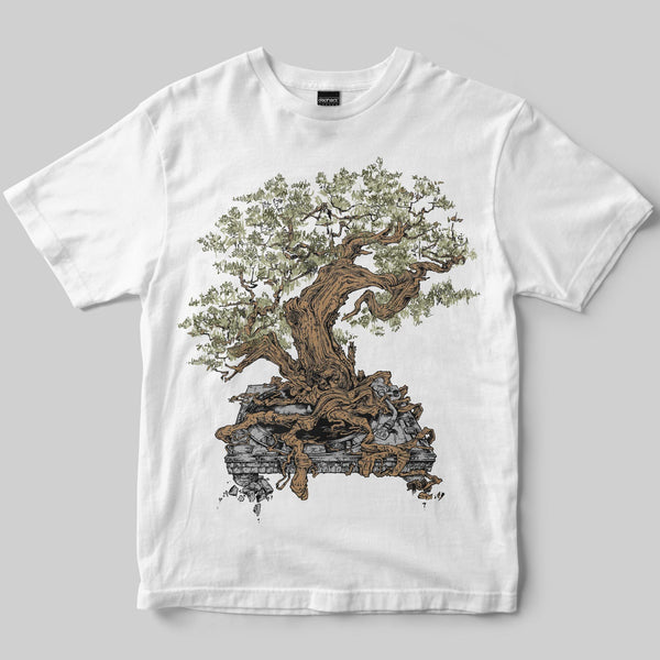 Planted T-Shirt / White / by Mike Winnard