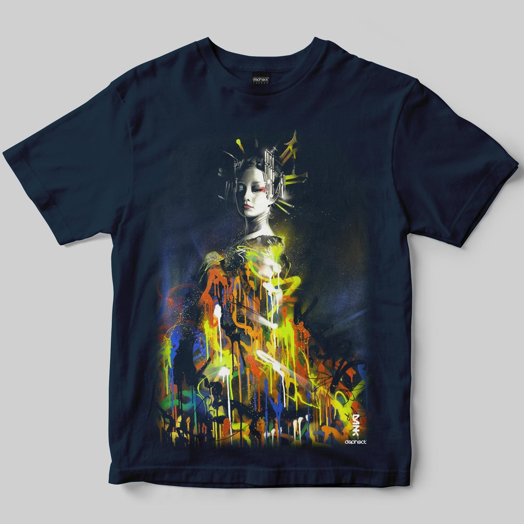 Queen of Colour T-Shirt / Navy / by Dan Kitchener