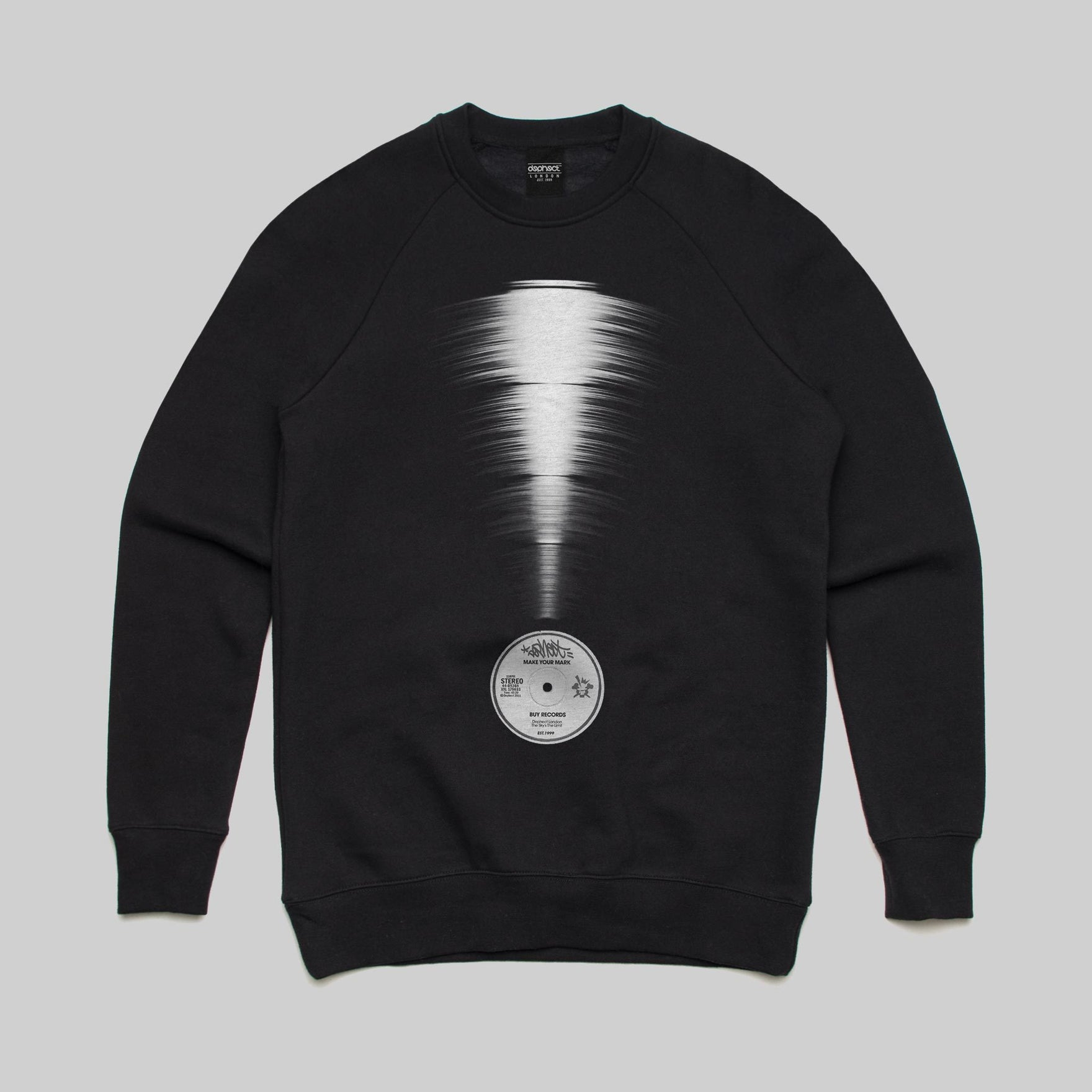 Reclamation Sweatshirt / Black / by Keshone
