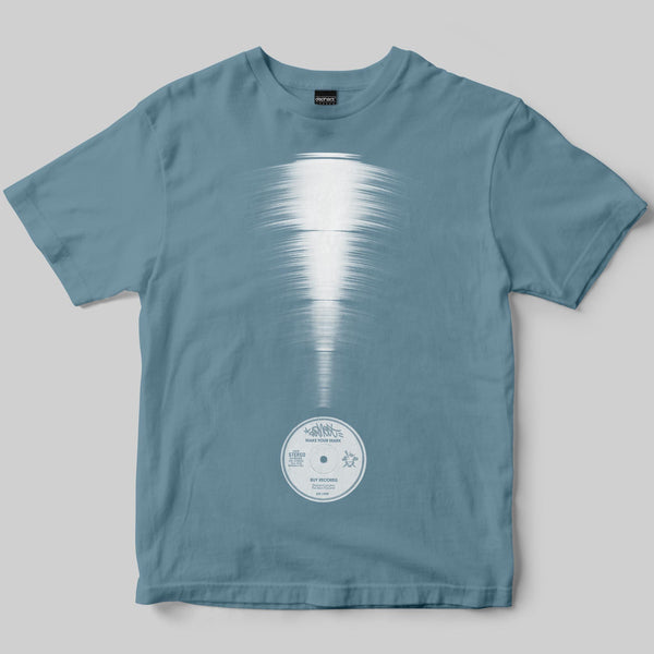 Reclamation T-Shirt / Dusty Blue / by Matt Drane