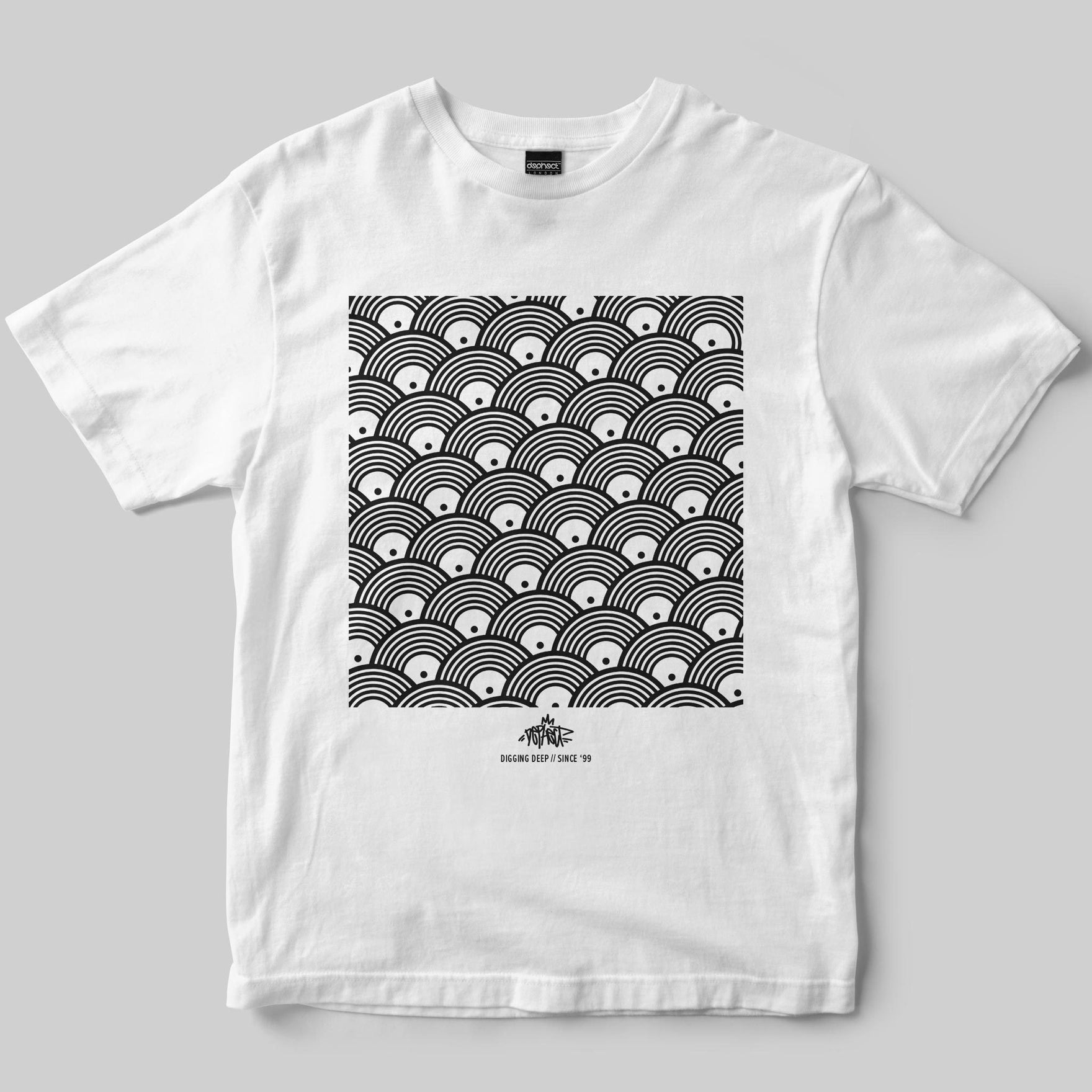 Repeat T-Shirt / White / by Keshone