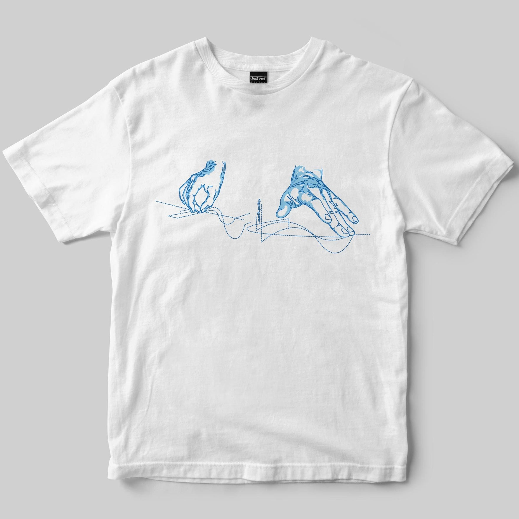Scratch T-Shirt / White / by Keshone