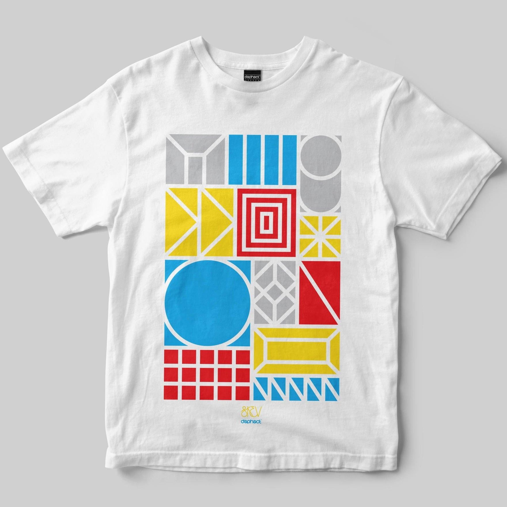 Shapes T-Shirt / White / by Skev