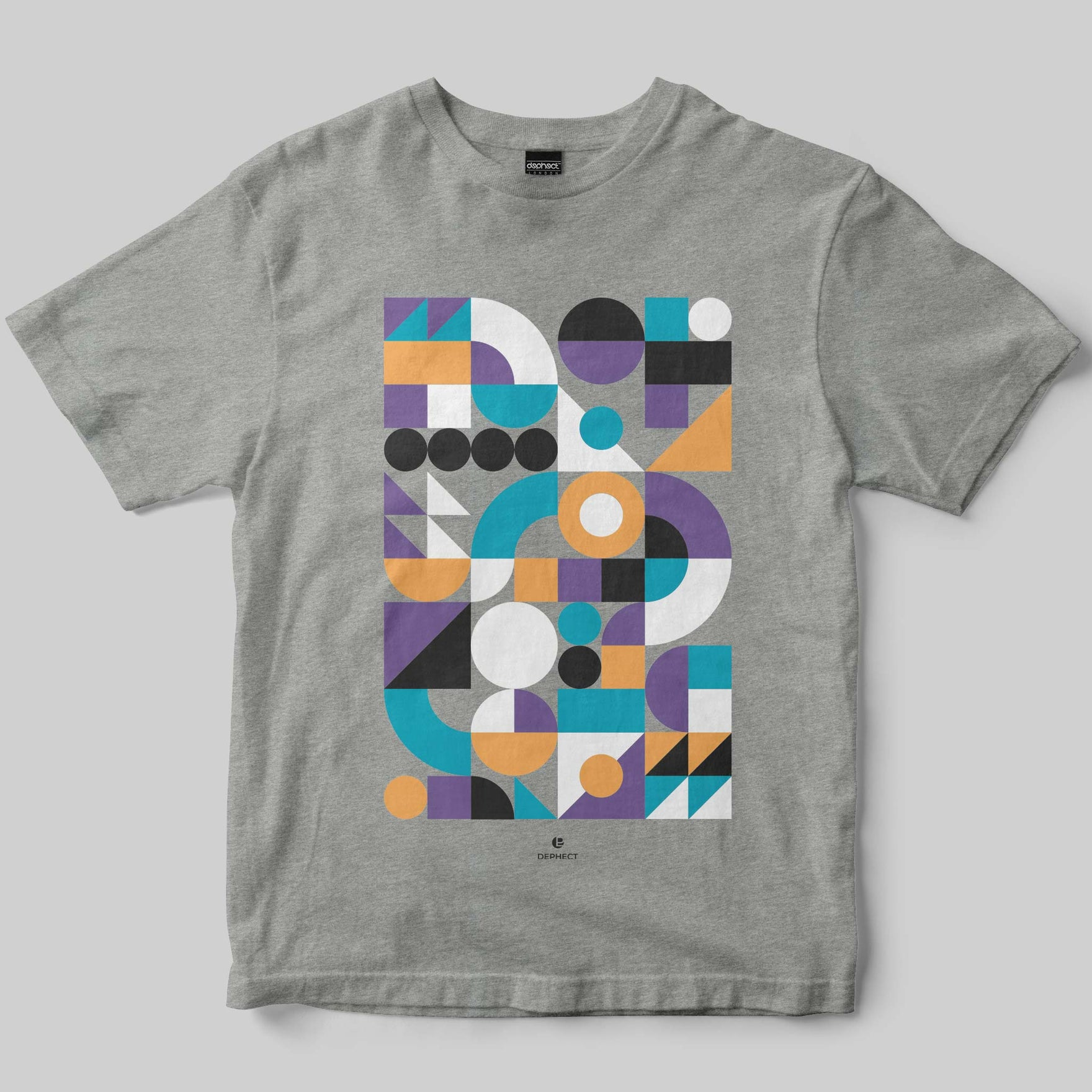 Simple T-Shirt / Heather Grey / by PosterLad