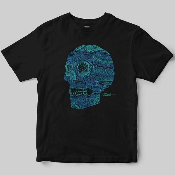 Skullour T-Shirt / Black / by Iain Macarthur