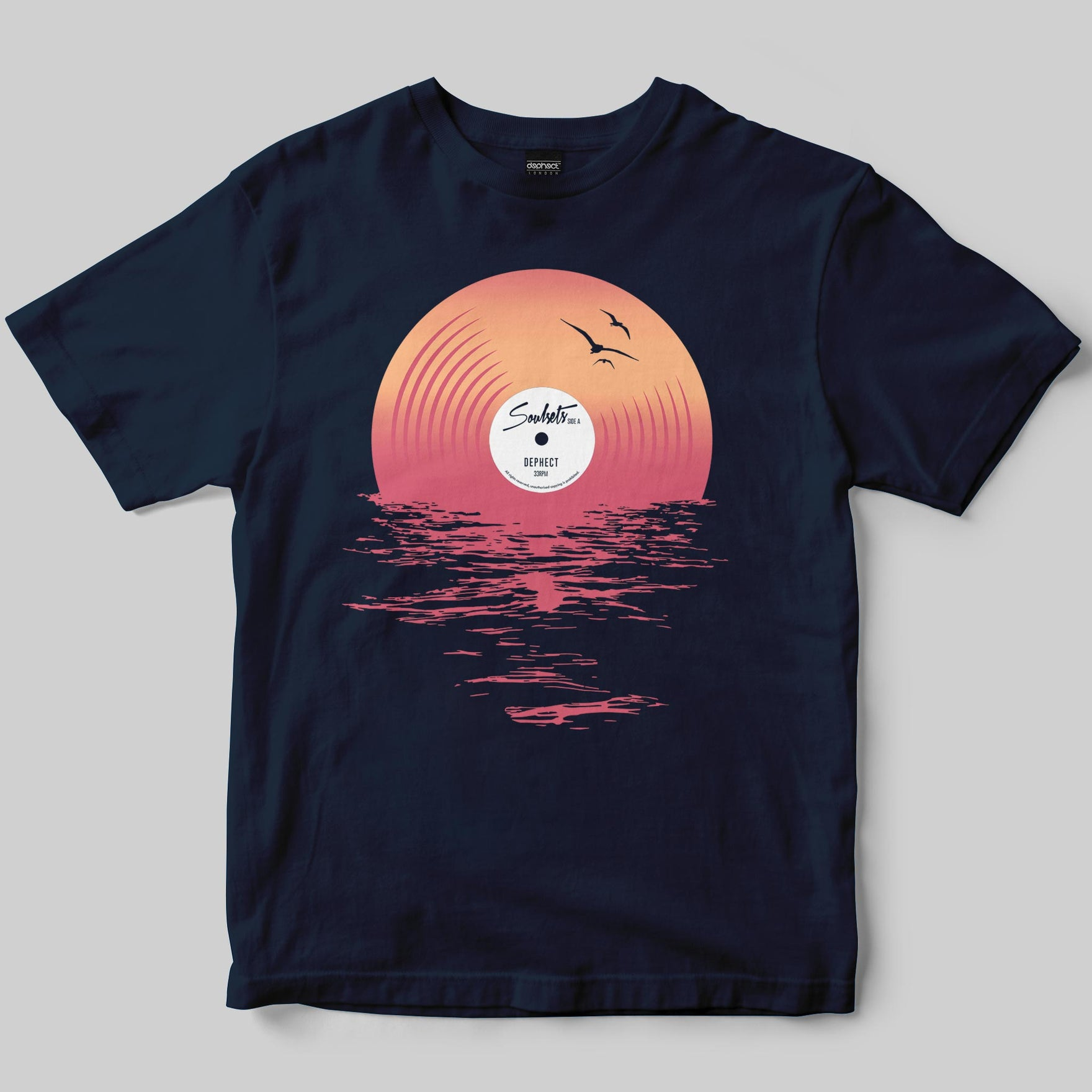 Soulsets T-Shirt / Navy / by Matt Drane